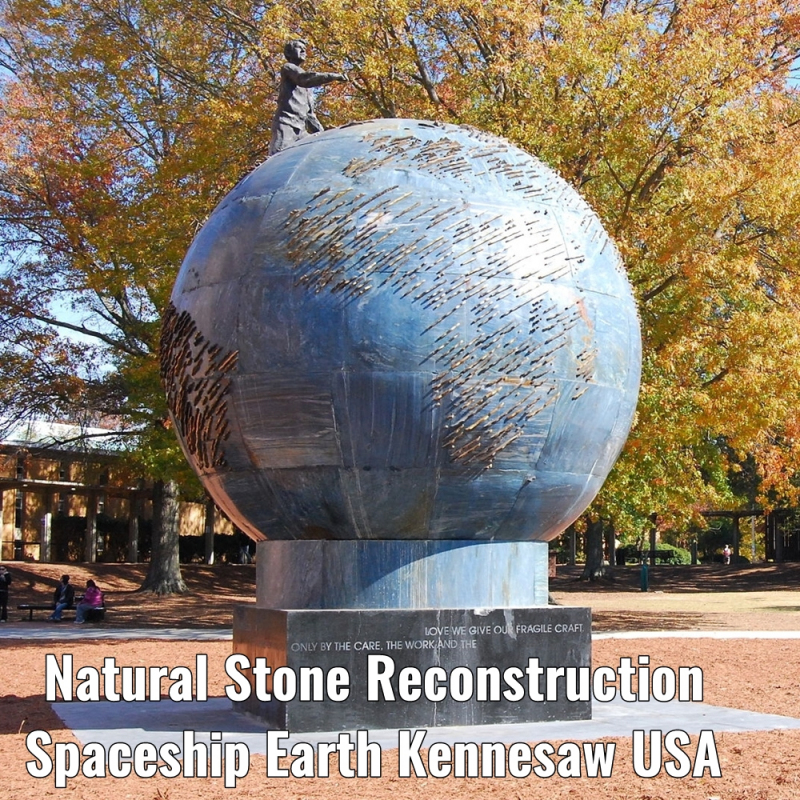 reconstruction spaceship earth kennesaw usa a