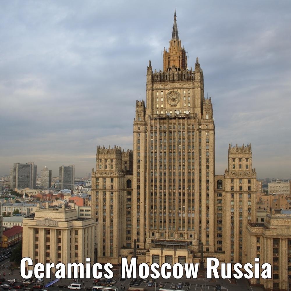 Ceramics Moscow Russia a