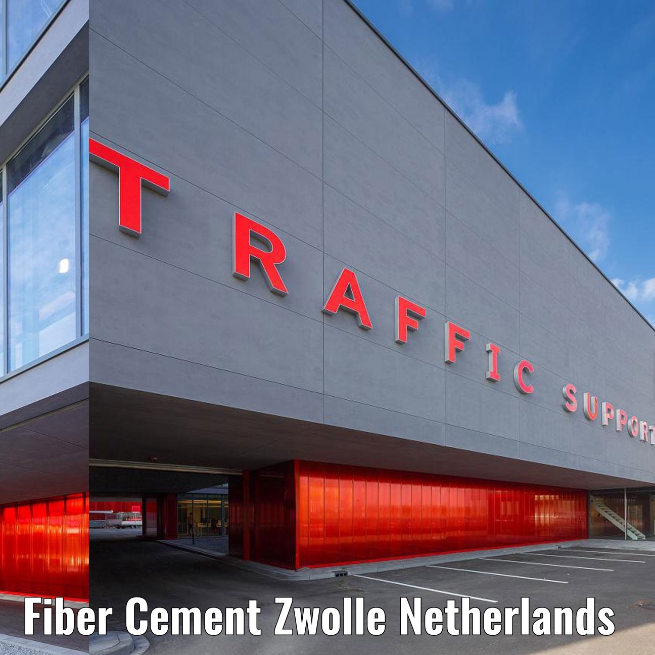Fiber Cement Board Zwolle the Netherlands 1aa