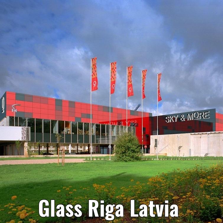 Glass Riga Latvia a