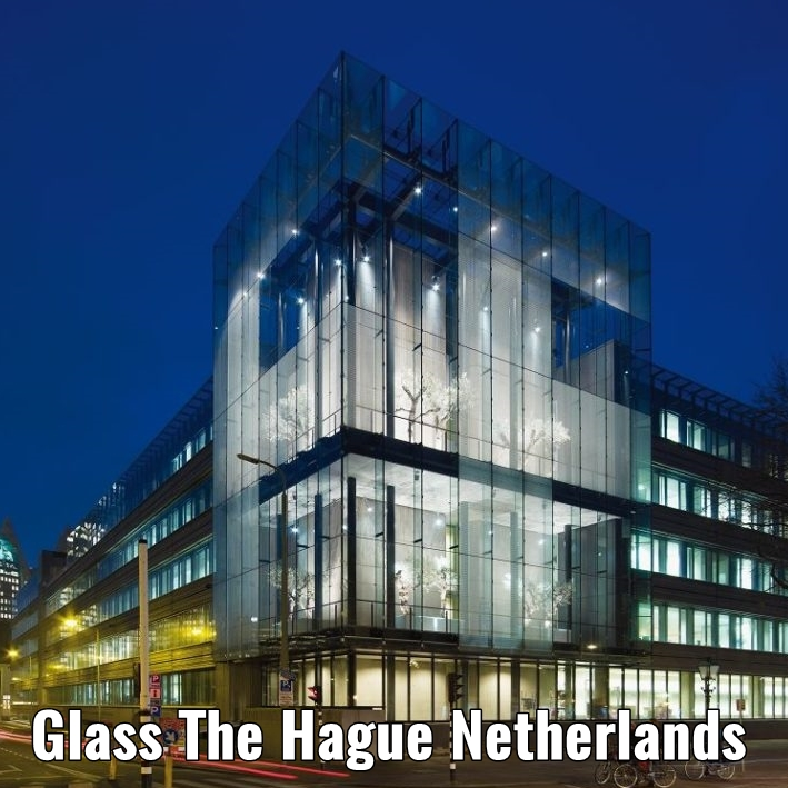 Glass The Hague the Netherlands a