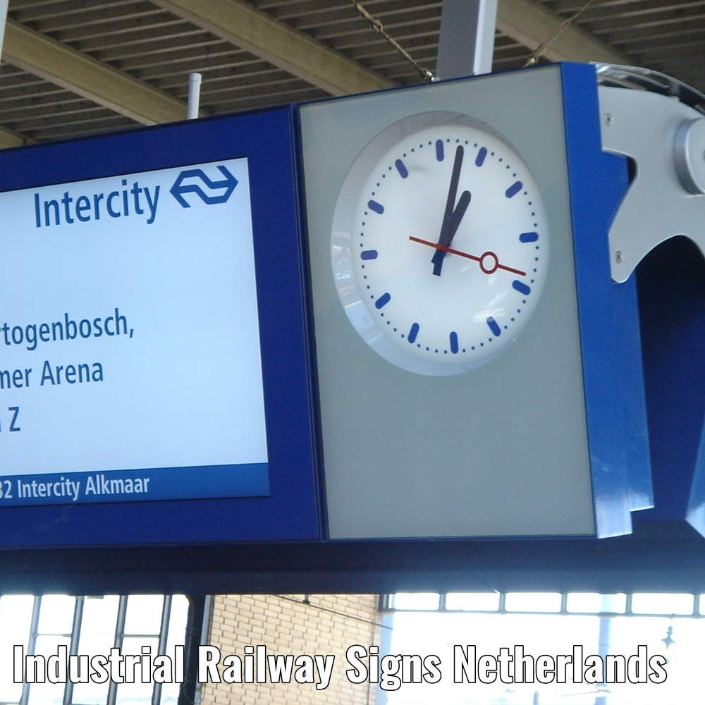 Industrial Railway signs the Netherlands a