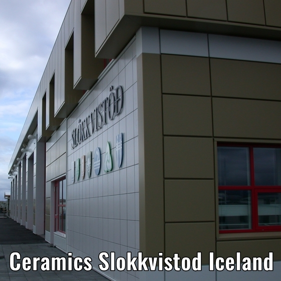 ceramics slokkvistod iceland aa