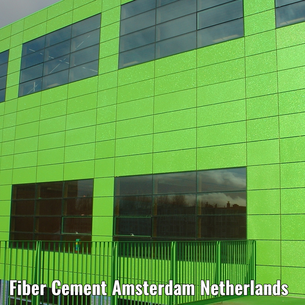 fiber cement board coated amsterdam the netherlands a