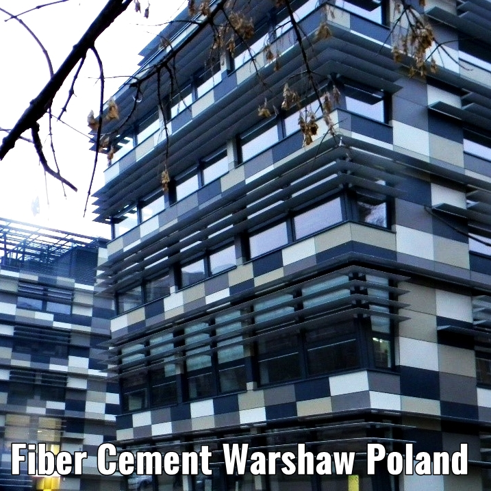 fiber cement board warshaw poland a